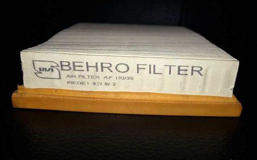 چاپ بر روی فیلتر هوا
