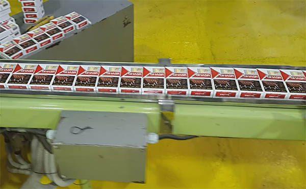 چاپ بر روی بسته سیگار